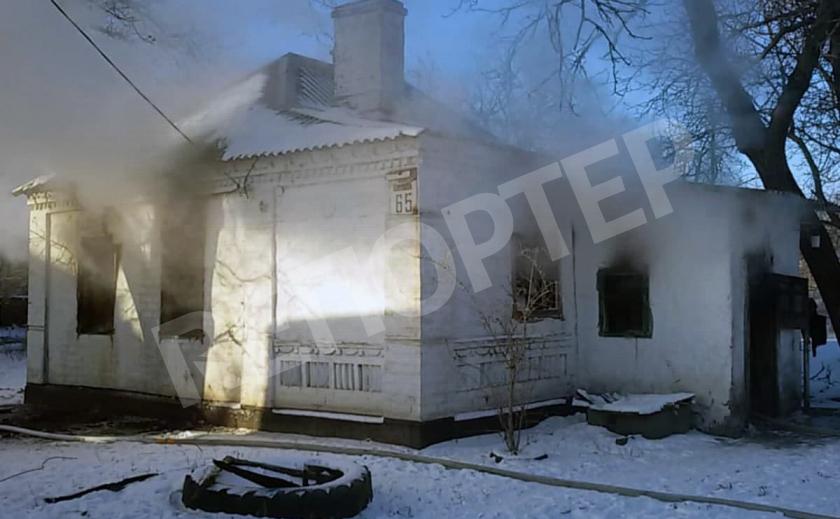 В Каменском на Каменской в огне погиб неизвестный