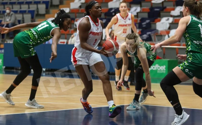 Баскетболистки «Прометея» вышли в четвертьфинал Европейской женской лиги