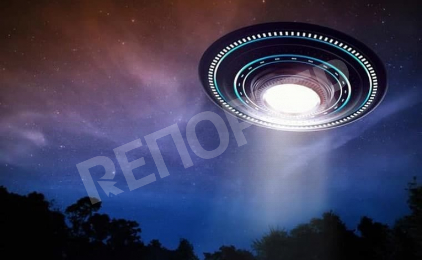 В Каменском зафиксировали НЛО?