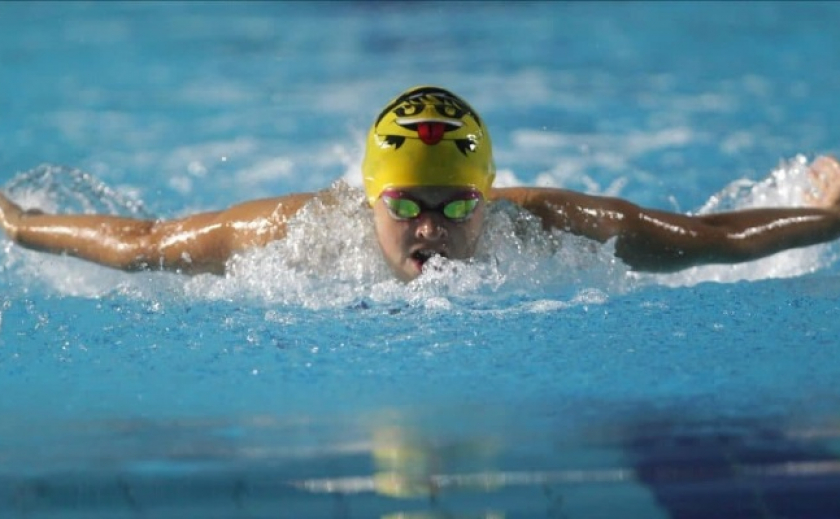 Четыре пловца из Каменского завоевали 14 медалей на Первых Всемирных ученических спортивных играх