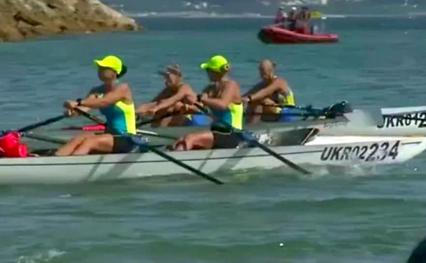 Спортсмены из Каменского и Запорожья выиграли чемпионат мира по прибрежной гребле