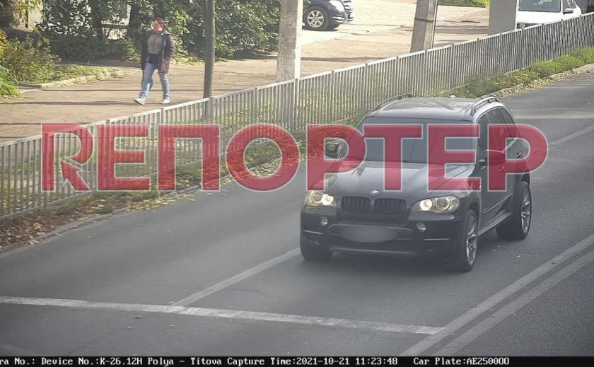 Угон «бумера» в Каменском: план «Перехват» снят – авто найдено