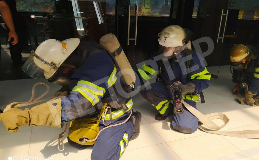 В Каменском прошли специальные учения спасателей