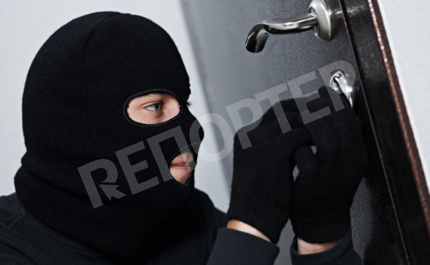 В Каменском задержали квартирного вора
