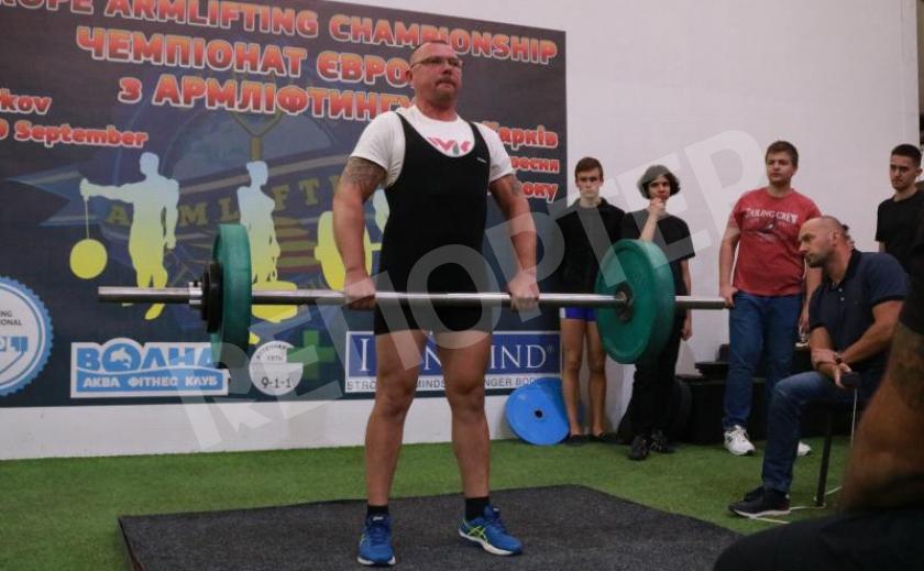 В Каменском работник ДМК стал чемпионом Европы