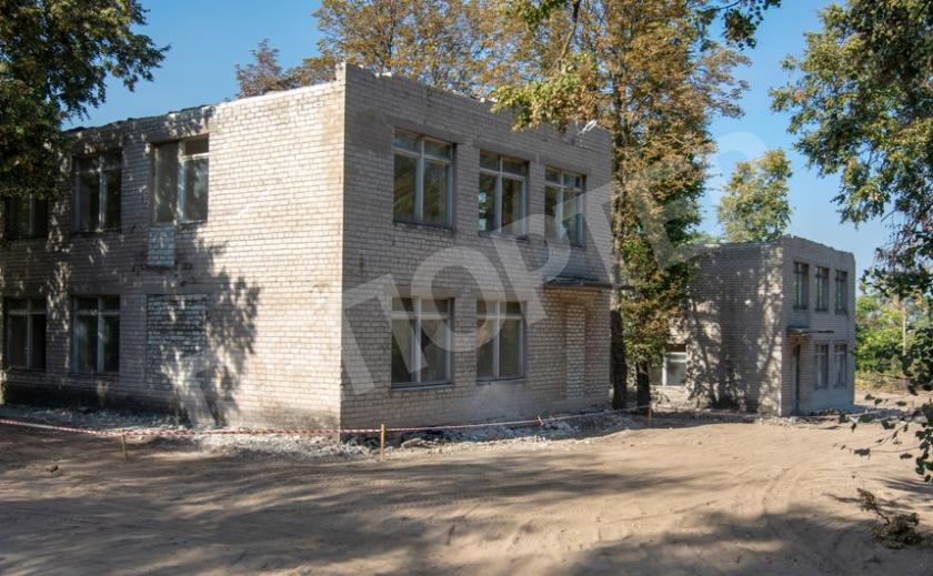 В Каменском за средства Европы реконструируют здание гимназии №11
